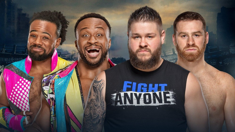 The New Day c. Kevin Owens et Sami Zayn