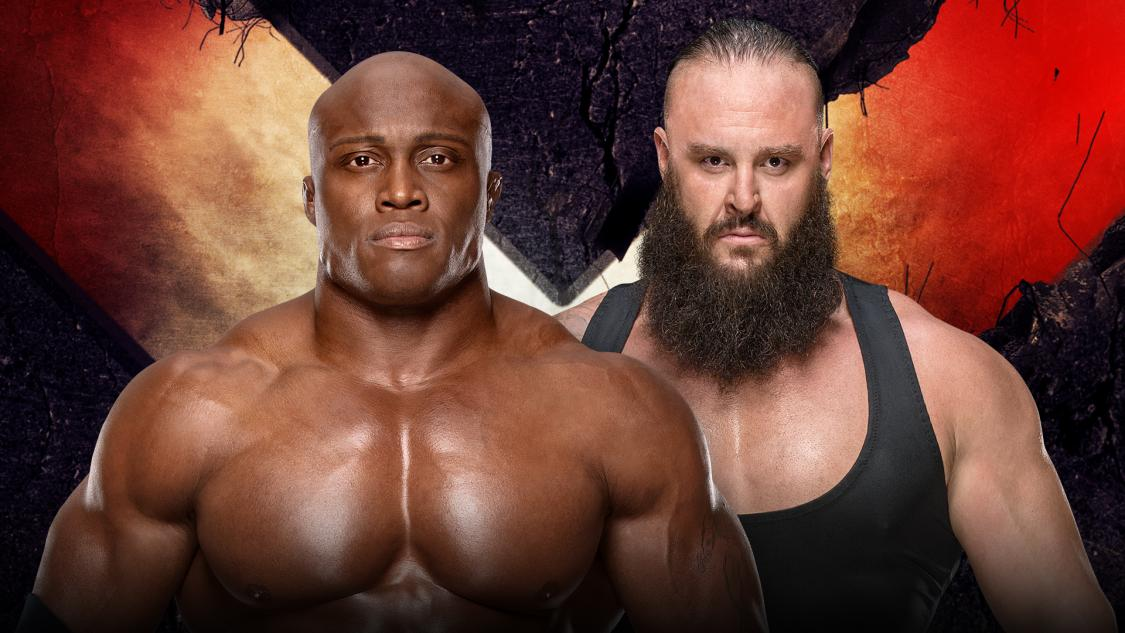 Lashley vs Strowman