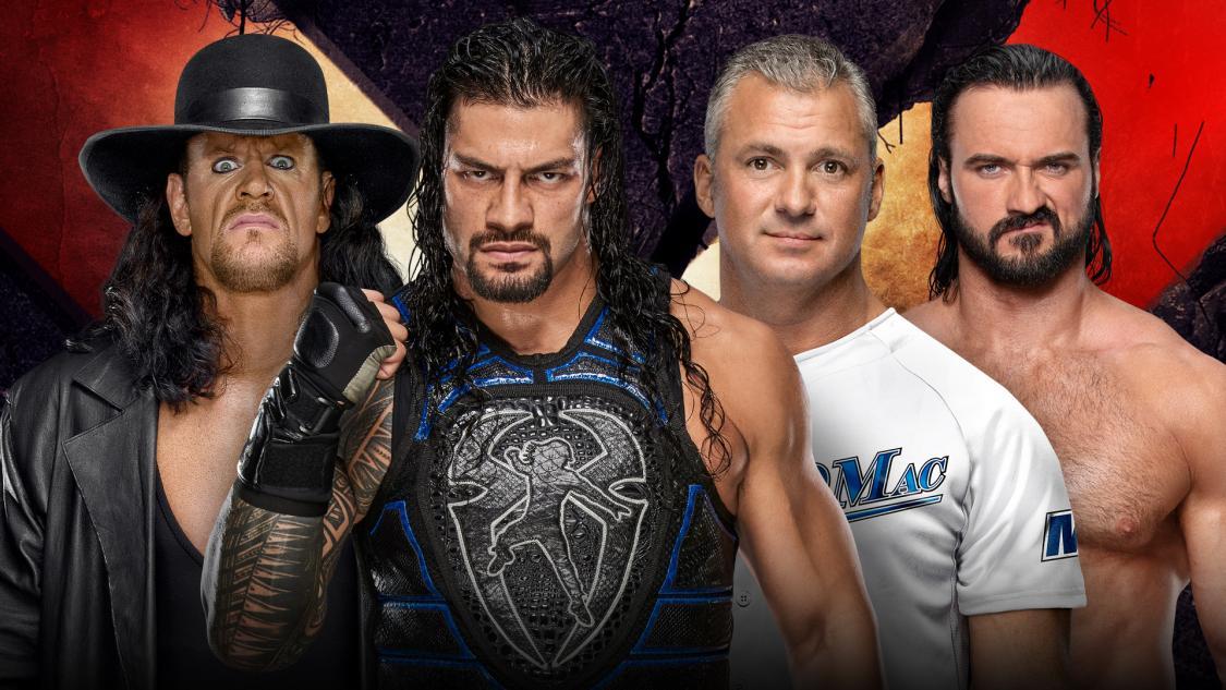 Undertaker & Reigns vs McMahon & McIntyre
