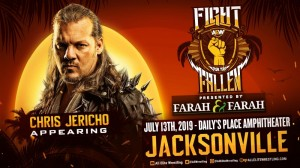 Chris Jericho Fight for the Fallen