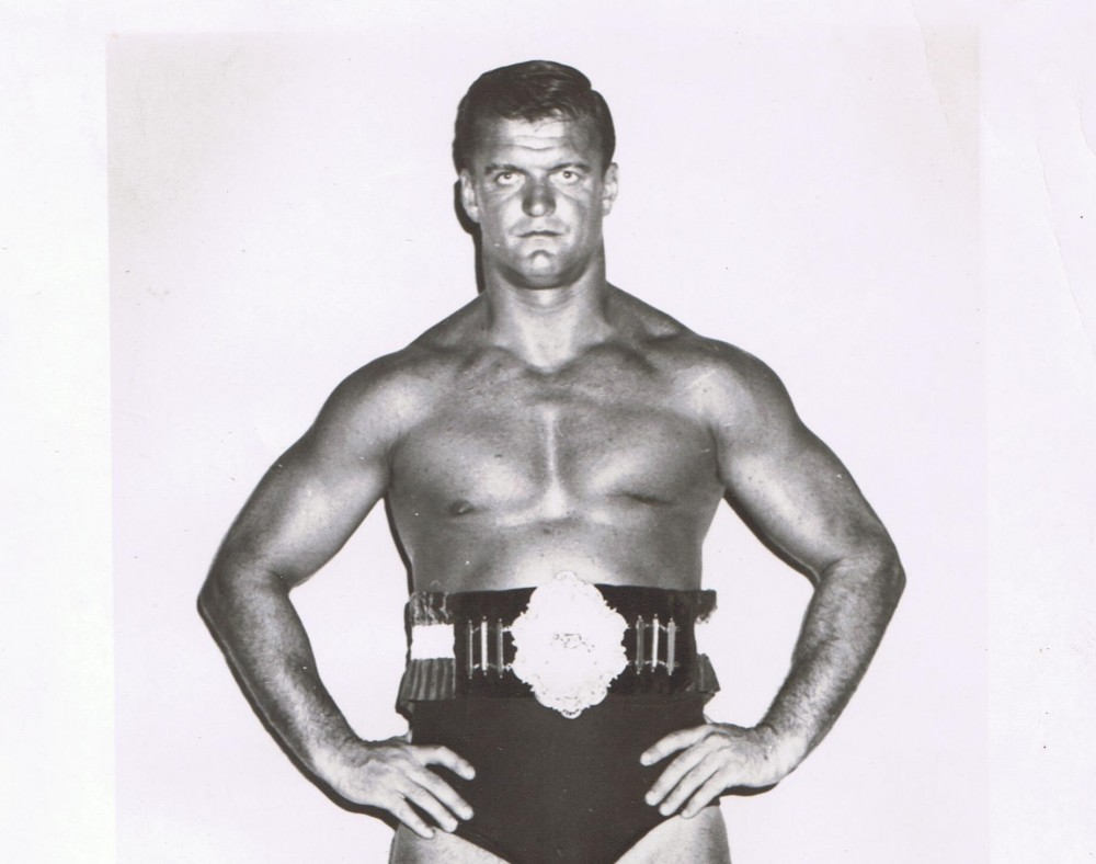 Jacques Rougeau Sr belt
