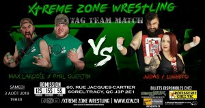 Rock 'N' Road contre ''Wounded Owl'' LuFisto et Judas