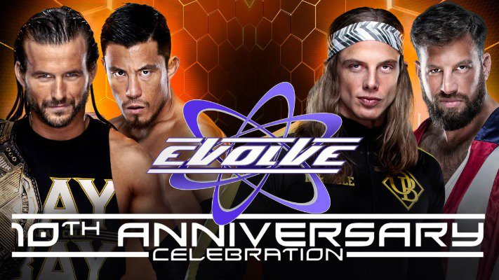 evolve 10 ans WWE network