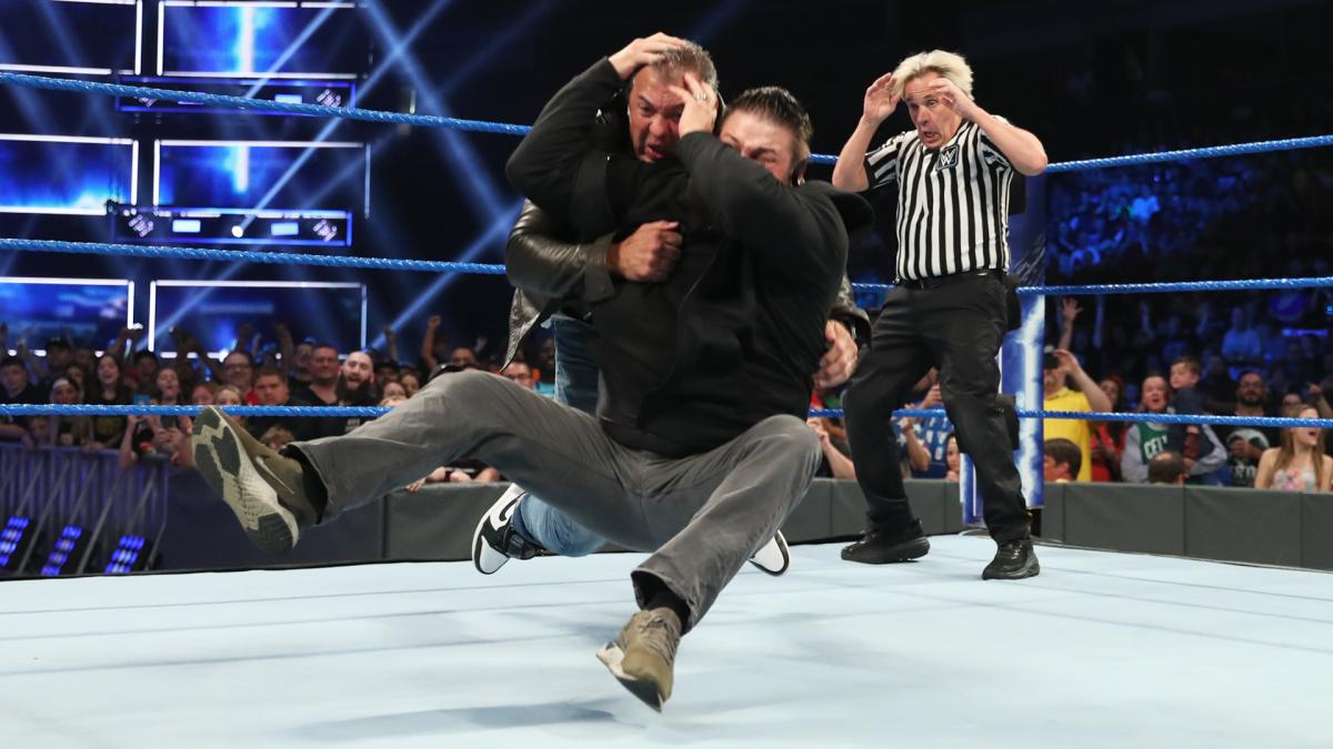 kevins owens stunner shane mcmahon