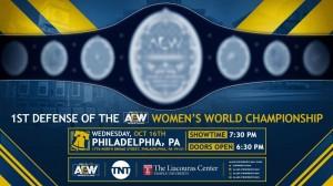 AEW Philadelphie défense championnat féminin AEW