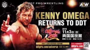 Kenny Omega DDT Pro-Wrestling 2019-11-03