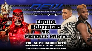 Northeast Wrestling - Lucha Brothers c. Private Party