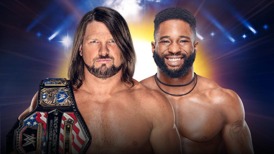 AJ Styles vs  Cedric Alexander