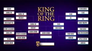 King of the Ring 2019 Bracket