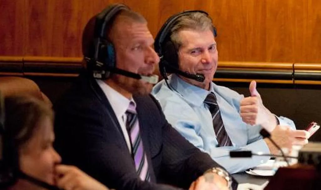 triple h raw coulisses raw