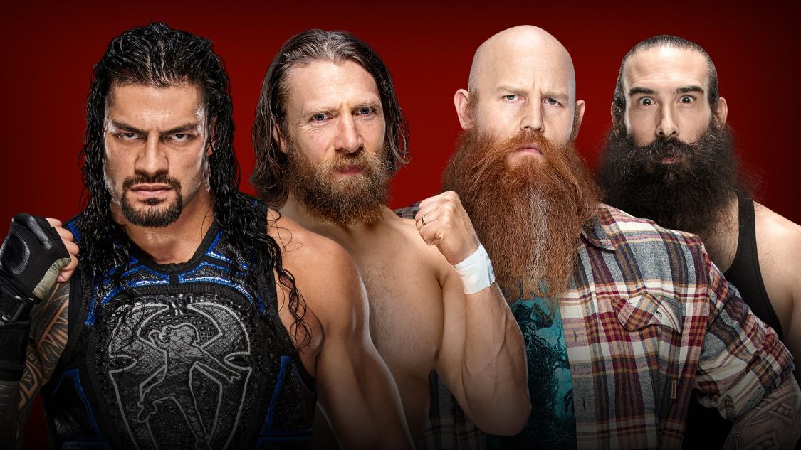 Reigns & Bryan vs Rowan & Harper