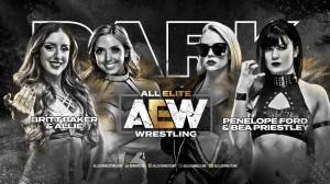 AEW Dark Britt Baker et Allie c. Penelope Ford et Bea Priestley
