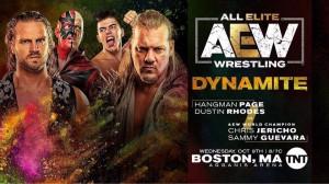 Dustin Rhodes et Hangman Page c. Chris Jericho et Sammy Guevara