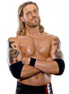 Edge a entre autres été quatre fois champion de la WWE et sept fois champion poids lourds mondial.