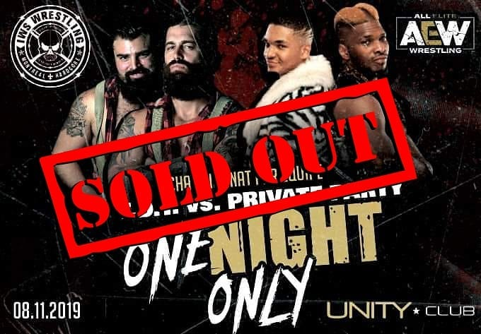 IWS One Night Only 2019