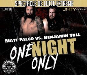 Matt Falco contre Benjamin Tull