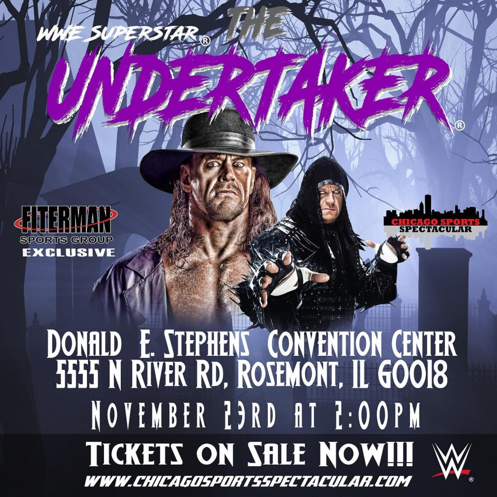 The Undertaker convention chicago