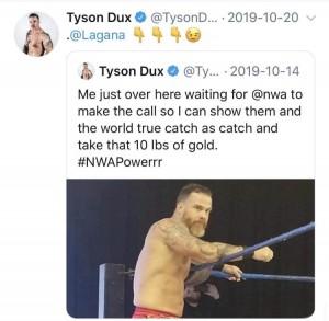 Tyson Dux Twitter