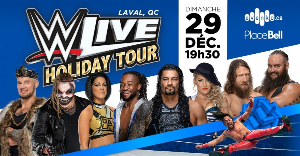 gala wwe place bell laval
