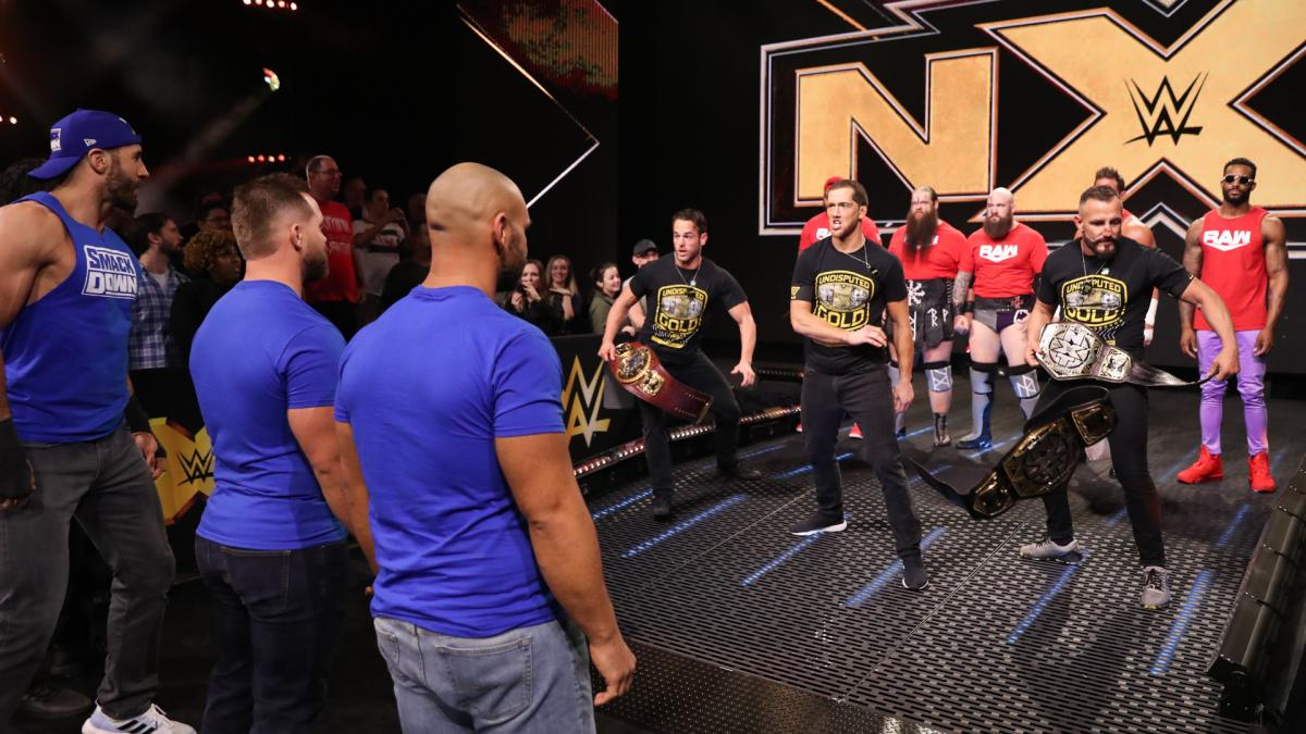 nxt invasion raw smackdown