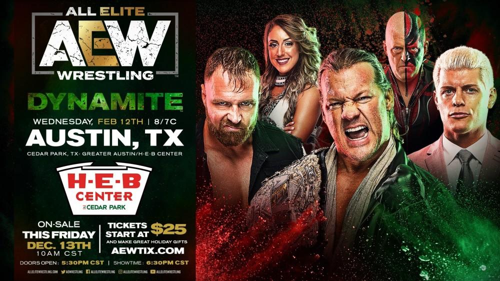 AEW Austin, Texas 2020-02-12