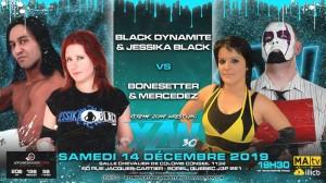 Black Dynamite et Jessica Black c. Le Bonesetter et Mercedes