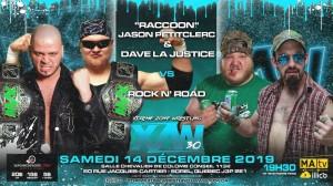Raccoon Jason Petitclerc et Dave La Justice c. Rock 'n Road