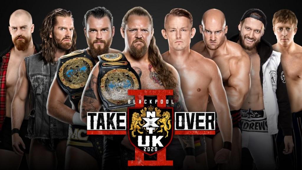 NXT UK Ladder match