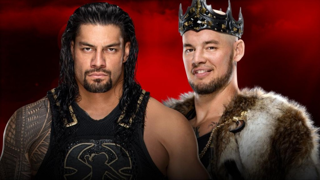 Reigns vs Corbin