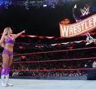 charlotte flair wrestlemania pancarte