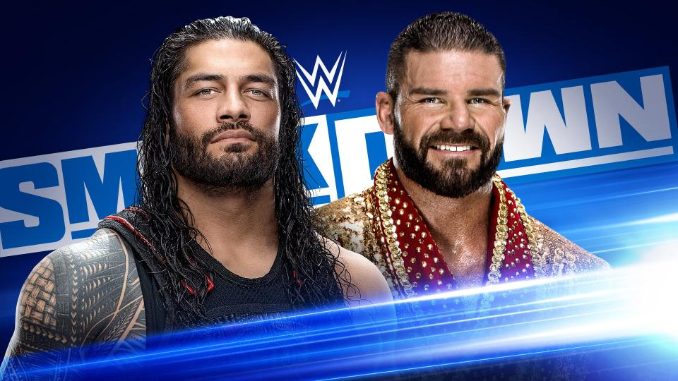reigns roode smackdown