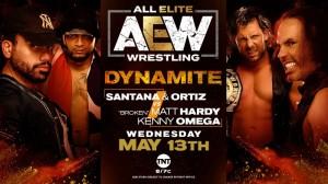 2020-05-13 Santana et Ortiz c. Matt Hardy et Kenny Omega