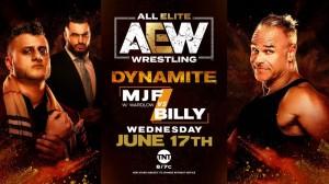 2020-06-17 MJF avec Wardlow c. Billy Gunn avec Austin Gunn