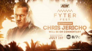 2020-07-01 Chris Jericho commentateur