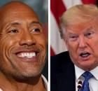 the rock trump