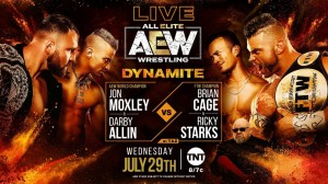 2020-07-29 Jon Moxley et Darby Allin c. Brian Cage et Ricky Starks