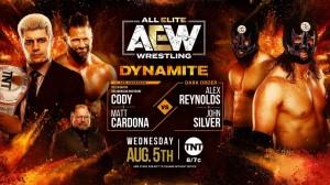 2020-08-05 Cody et Matt Cardona avec Arn Anderson c. Dark Order