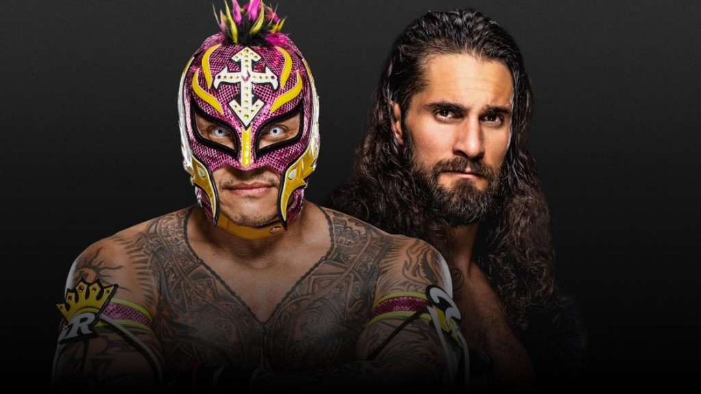 Mysterio vs Rollins