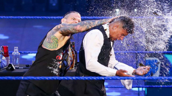 jeff hardy bar smackdown
