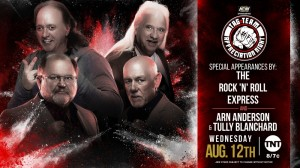 2020-08-12 Rock 'n Roll Express, Tully Blanchard et Arn Anderson