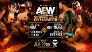 2020-08-22 Lucha Bros. et Butcher & The Blade c. Jurassic Express et Natural Nightmares