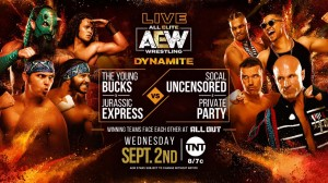 2020-09-02 Young Bucks et Jurassic Express c. SCU et Private Party