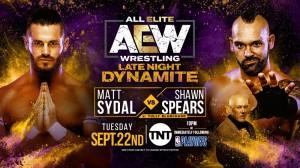2020-09-22 Matt Sydal c. Shawn Spears
