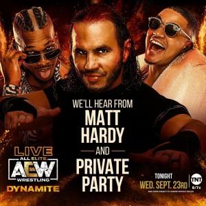 2020-09-23 Matt Hardy et Private Party