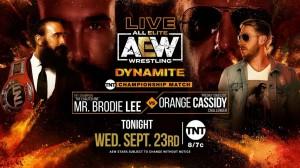 2020-09-23 Mr. Brodie Lee c. Orange Cassidy