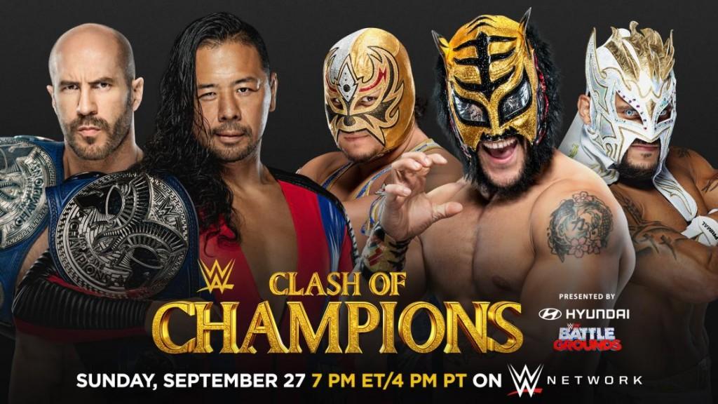 Cesaro & Nakamura vs Lucha