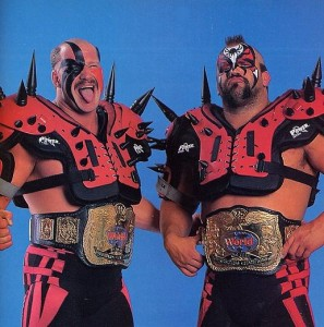 Un nouveau nom pour Hawk et Animal: Legion of Doom  crédit: WWE
