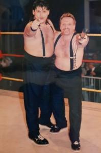 Serge Proulx et son bon ami Guy à l'ICW  photo: Serge Proulx