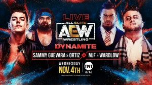 2020-11-04 Sammy Guevara et Ortiz c. MJF et Wardlow