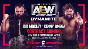 2020-11-18 Jon Moxley - Kenny Omega